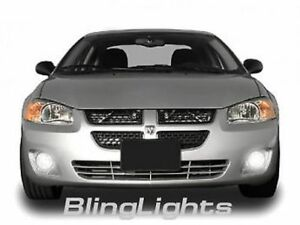 2001 2002 2003 2004 2005 2006 2007 Dodge Stratus Xenon Fog Lamps Kit Lights