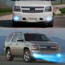 Auxbeam LED Fog Lights 5202 Fog Lamps for Chevrolet Silverado 2008-2014// Avalanche 2007-2011// Suburban 2007-2014// Tahoe 2007-2014// GMC 07-15 Sierra//Yukon 1 Pair Fog Lights - Black