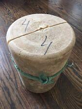 Vintage Antique Wooden Hat Block Form Hand Made #4