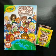 Crayola Colors of t 00006000 he World Multicultural Crayons 32 Pack and Activity Book