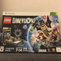 LEGO Dimensions 267 Pcs Building Pack For Xbox 360 Starter Set Factory Sealed