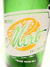 vintage ACL Soda POP Bottle: green MERT of WEST NEWTON, PA - 7 oz