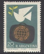 Argentina 1967 Tourist Year/Birds/Dove/Tourism/Animation 1v (n30446)