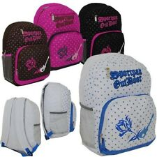 "17"" Stylish Printed Backpack---  ( Wholesale lots of 36 )"