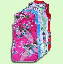 asian indian chinese pakistani Girls dress 1-13 yrs PEACOK Silk Party girl dress