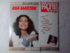 MIA MARTINI Profili musicali lp BRUNO LAUZI DARIO BALDAN BEMBO FRANCO CALIFANO