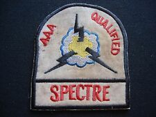 """Vietnam War Patch US Air Force """"AAA"""" Anti-Aircraft Artillery QUALIFIED SPECTRE"""
