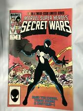 Marvel Super Heroes Secret Wars 8 1984 1st Symbiote Black Costume Spider-Man NM