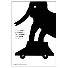 David Shrigley Untitled Poster Large 50 X 70 cm Unframed
