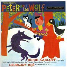 M rio Rossi, Mário Rossi, Boris Karloff - Peter & the Wolf [New CD]