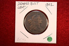 1802 Draped Bust Large Cent, Stemless Wreath, Very rare, key date coin