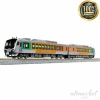 KATO N gauge Resort Asunaro HB-E300 series 10-1369 Two-car set Diesel car JAPAN