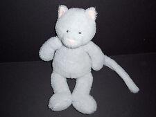 "12"" Jellycat Babbington Grey Kitty Cat Plush Pink Ears Stuffed Animal Lovey Toy"