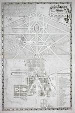 Versailles chateau jardin garden Garten Kupferstich engraving gravure 1693