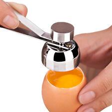 Metal Egg Scissors Egg Topper Cutter Shell Opener Boiled Raw Egg Kitchen Tools