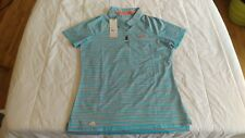 1 NWT ADIDAS WOMEN'S GOLF TOP, SIZE: SMALL, COLOR: ENEBLU  **B201