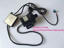 24V Brushless DC Water Pressure Pump DC50E-24150A 87W 15m Power/ Flow Adjustable
