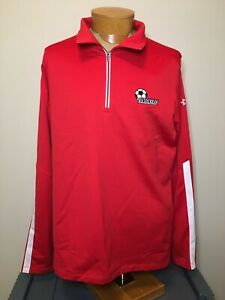 Under Armour USA World Cup Soccer Snickers 1/4 Zip Pullover Women's XL NWT