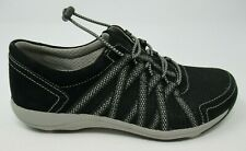DANSKO WOMEN'S HONOR SUEDE BLACK WALKING SNEAKERS SHOES SIZE: 36 US 5.5/6, NIB