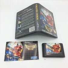 Forgotten Worlds - Sega - Megadrive - Mega Drive - PAL Version