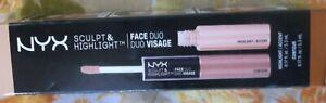 NEW  NYX Sculpt & Highlight Face Duo color SHFD03 Caramel  Vanilla