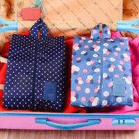 HN- Portable Waterproof Travel Shoes Underwear Storage Bag Pouch Holder