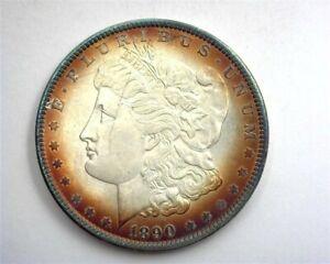 1890 MORGAN SILVER DOLLAR GEM UNCIRCULATED NICE TONING!! BETTER DATE!!