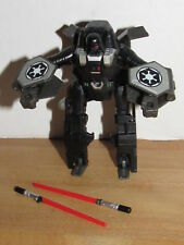 Star Wars Transformers Darth Vader Sith Starfighter 2011 Loose 100% Complete