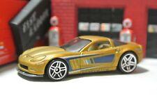 Hot Wheels '11 Chevy Corvette Grand Sport - Loose Gold - 50th Anniversary