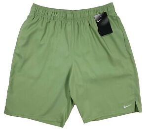 Men's NIKE Muted Green Athletic Shorts Swim Trunks XL X-Large NWT NEW WoW!