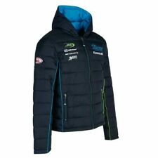 Silicone Racing Kawasaki Team Bubble Jacket with Hood Size SMALL