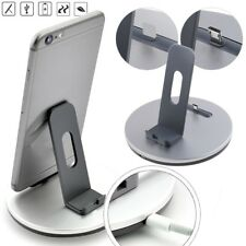 Desktop Charger Sync Charging Dock Station Cradle & Stand for iPhone & Android * #