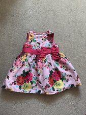 Baby Girls Pink Ted Baker Summer Dress 3-6 Months