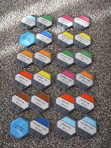 U-Build MONOPOLY 12 Double District Tiles Replacement Parts Game Pieces 2010