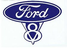FORD V8 Vintage Tribute Retro Stickers
