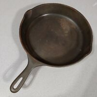 Vintage Unmarked Wagner Ware Cast Iron No. 10 Skillet Frying Pan SK10-8066