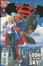 Superman Batman Comic Issue 9 Modern Age First Print 2004 Jeph Loeb Turner DC