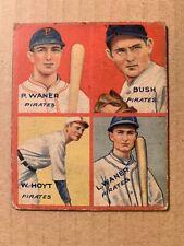 Paul Waner Baseball Cards For Sale Ebay