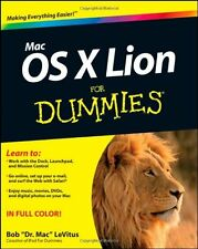 Mac OS X Lion For Dummies,Bob LeVitus