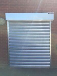 BRAND NEW SHOP SECURITY STEEL ROLLER SHUTTER / GARAGE DOORS - All sizes made!