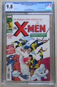X-Men #1 Facsimile (2019, Marvel) CGC 9.8 NM/MT 1ST MAGNETO - Lowest Price Ever!