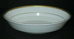 4 Macy/'s  Charter club grand buffet gold elliptical bowls  Excellent condition