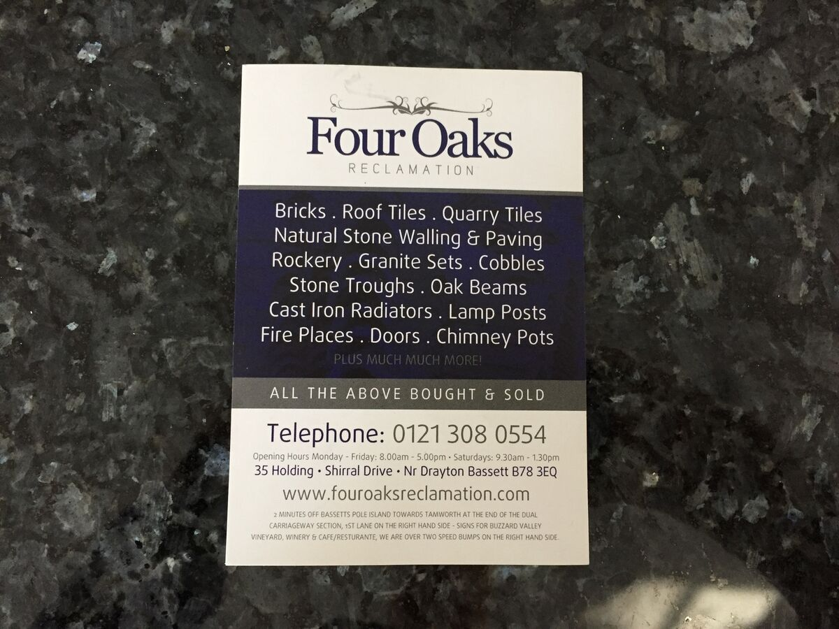 Four Oaks Reclamation