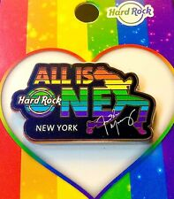 2020 HARD ROCK CAFE NEW YORK CITY FREDDIE MERCURY GAY PRIDE ALL IS ONE LE PIN