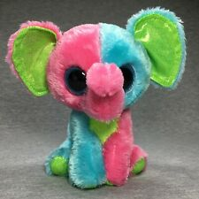 "TY Beanie Boos 6"" - ELFIE the ELEPHANT - Justice Exclusive 2015 MINT"
