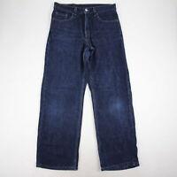 Levis Women's 577 Jeans Bootcut Size 10 Dark Wash High Rise 100% Cotton