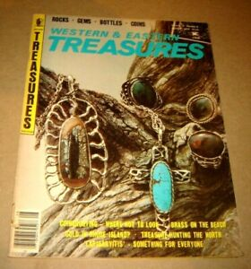 Western & Eastern Treasures, August 1979, metal detecting, treasure hunting