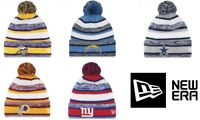 NEW ERA SPORT KNIT NFL Onfield Sideline Beanie Winter Pom Knit Cap Hat