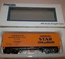 Industrial Rail HO Scale Armour's Star Ham & Bacon Reefer