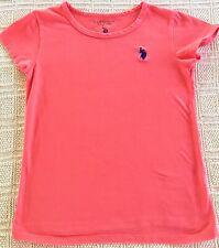 Polo Assn U.S Girls B//W Striped Long Sleeves Tunic Top Shirt 5//6 BHFO 8861